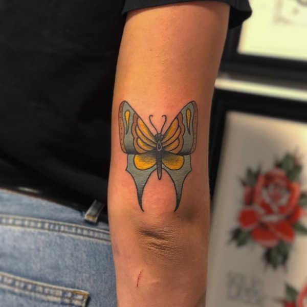 Tatueringar av fjärilar: Betydelse, design, historia och foton Djur Tatuering idéer och betydelser