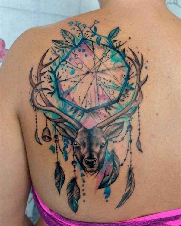 Rådjur tatuering: Betydelse, design, historia och foton