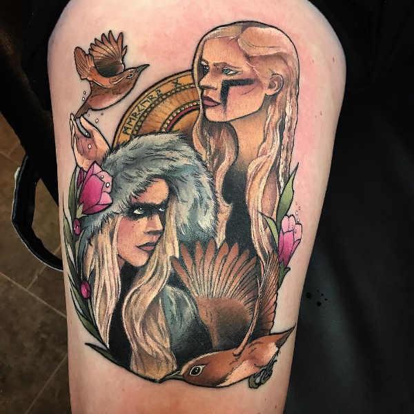 Tvilling (stjärntecken) tatuering: Betydelse, design, historia och foton Stjärntecken Tatuering idéer och betydelser