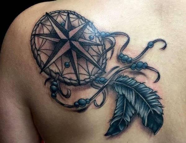Drömfångare tatuering: Betydelse, design, historia och foton Tatuering idéer och betydelser