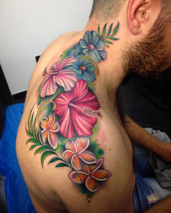 Hibiskus tatuering: Betydelse, design, historia och foton Blomtatueringar Tatuering idéer och betydelser